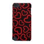 Customizable Kissy Lips Hearts iPod Touch (5th Generation) Covers