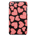 Customizable Kissy Lips Hearts iPod Touch Covers