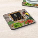 Customizable Kitchen Beverage Coasters