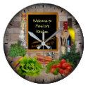 (Customizable) Kitchen Clock (<em>$32.95</em>)