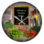 (Customizable) Kitchen Clock