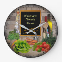 (Customizable) Kitchen Clock