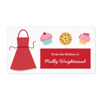 Customizable Kitchen Labels Shipping Label