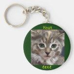Customizable Kitten Keychain #2