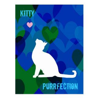 Customizable: Kitty blues Postcard