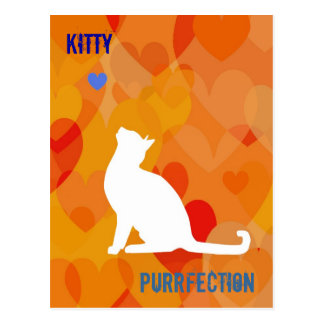 Customizable: Kitty bright Post Cards