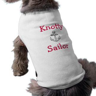 Customizable Knotty Sailor Doggie T Shirt