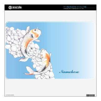 "Customizable: Koi 11"" MacBook Air Decal"