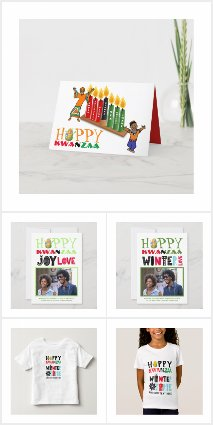 Customizable Kwanzaa Posters, Cards, Gifts, Decor
