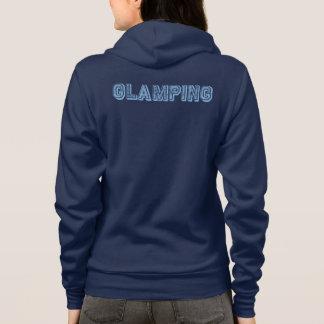 Customizable Ladies 'Glamping' Road Trip Design Hoodie