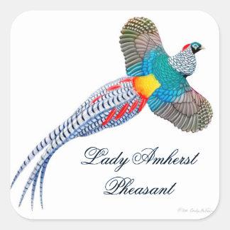 Customizable Lady Amherst Sticker