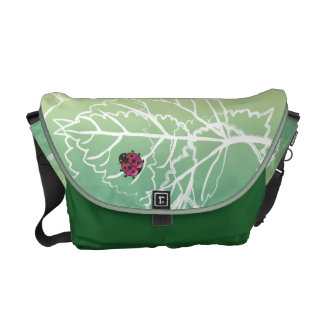 Customizable: Ladybug Commuter Bag
