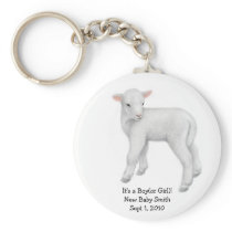 Customizable Lamb Keychain