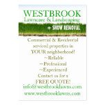 Customizable Lawncare & Landscaping Business Card