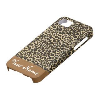 Customizable Leopard Print Case iPhone 5 Case