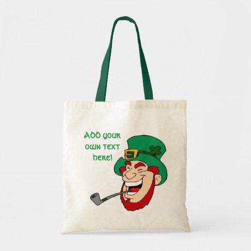 Customizable Leprechaun Bags