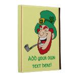 Customizable Leprechaun iPad Folio Cover