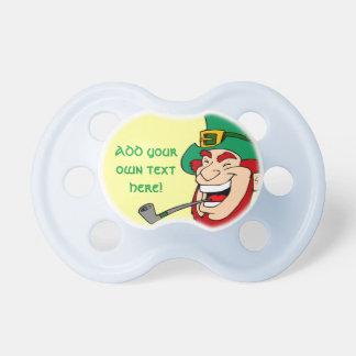 Customizable Leprechaun Pacifiers