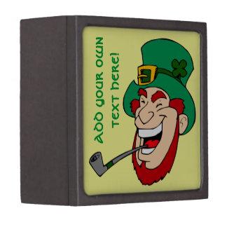 Customizable Leprechaun Premium Jewelry Boxes