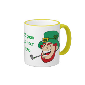 Customizable Leprechaun Ringer Mug