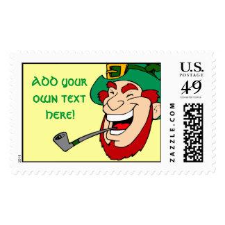 Customizable Leprechaun Stamp