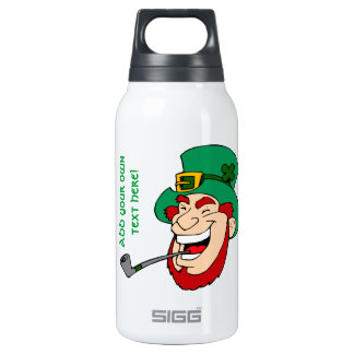 Customizable Leprechaun Thermos Bottle