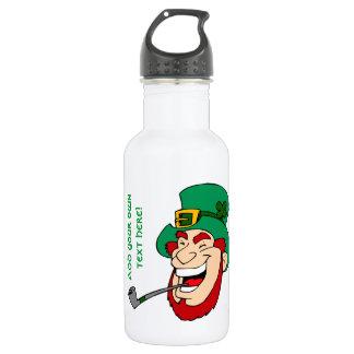 Customizable Leprechaun Water Bottle