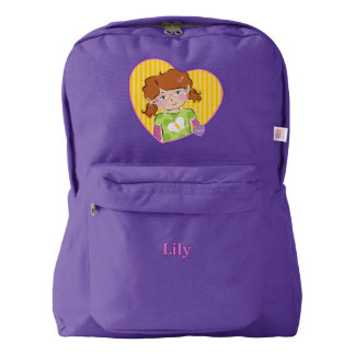 Customizable Lily American Apparel™ Backpack