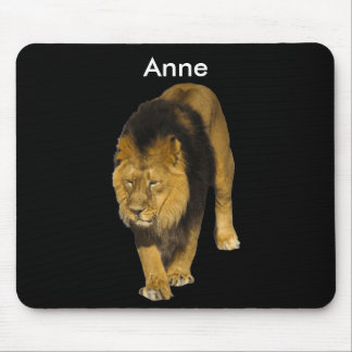 Customizable Lion Mouse Pad