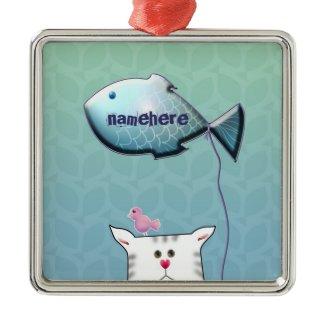 Customizable: Little Alfie balloon ornament