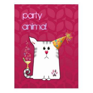 Customizable: Little Alfie party Postcards