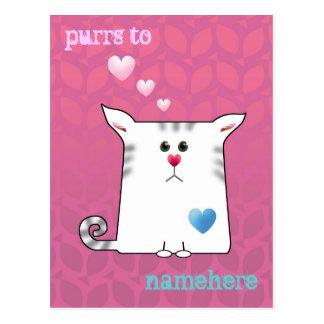 Customizable: Little Alfie pink Postcard