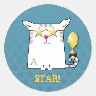 Customizable: Little Alfie superstar Classic Round Sticker