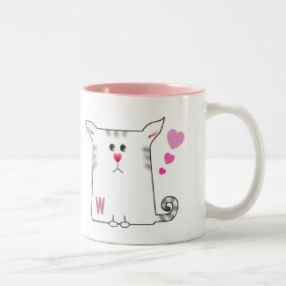 Customizable: Little Alfie Two-Tone Coffee Mug