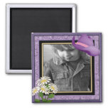 CUSTOMIZABLE Little Cowgirl photo magnet