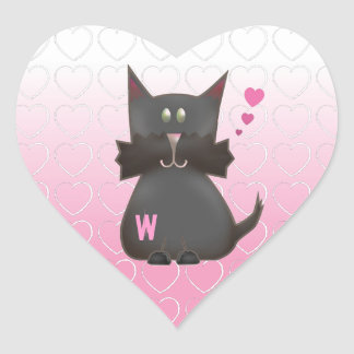 Customizable: Little Terry B. Heart Sticker