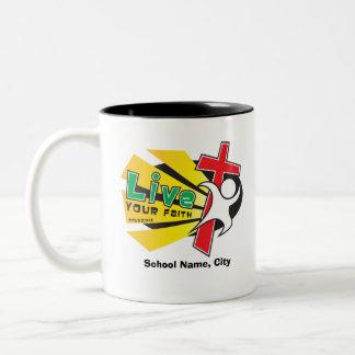 Customizable LIve Your Faith Mug
