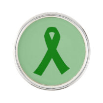 Customizable Liver Cancer Lapel Pin