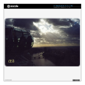 "Customizable: London Eye Decal For 11"" MacBook Air"