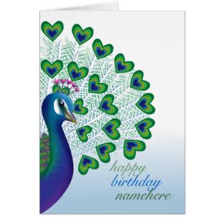 Customizable: Love bird Card