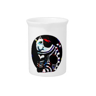 Customizable Love Cat Beverage Pitchers