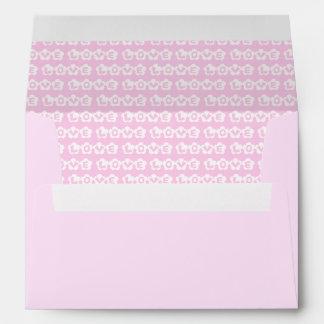 Customizable LOVE Envelope
