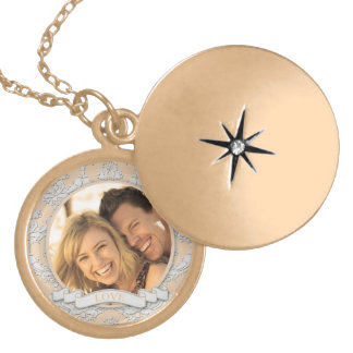 Customizable Love Locket Necklace_Medium