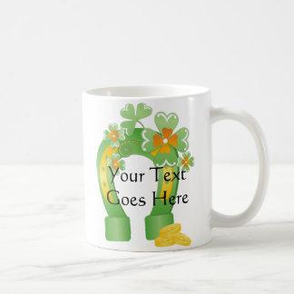 Customizable Lucky Horseshoe Mugs Mugs