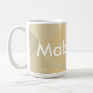 Customizable Mabuhay on Blue & Brown Hues Coffee Mug