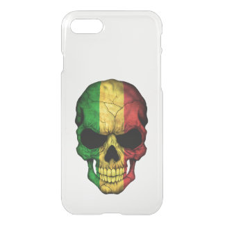 Customizable Mali Flag Skull iPhone 8/7 Case