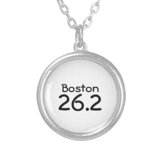Customizable Marathon Necklace