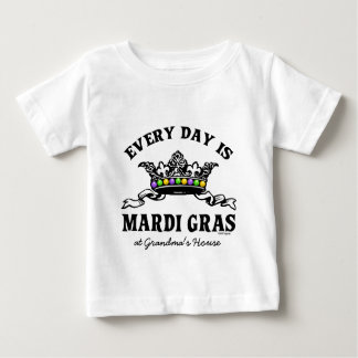 Customizable Mardi Gras Baby T-Shirt