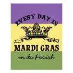 Customizable Mardi Gras Flyer
