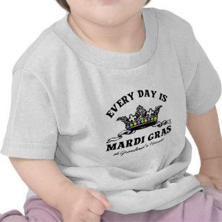 Customizable Mardi Gras T Shirt